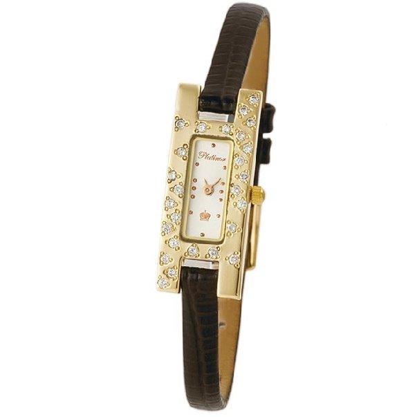 В настоящее время 1.89/5. Женские золотые часы Platinor...